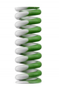 Oval Wire Die Spring Green Stripe Extra Heavy Duty