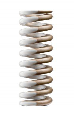 Oval Wire Die Spring Gold Stripe Heavy Duty